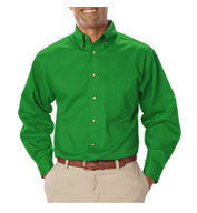 Men's Long Sleeve Teflon Twill Shirt