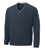 Nike Golf Men's V-Neck Windshirt w/Trimmed Collar