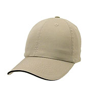 Apollo Unconstructed Chino Washed Cotton Twill Sandwich Cap