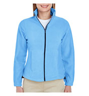 UltraClub Ladies' Iceberg Fleece Full-Zip Jacket