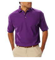 Men's Teflon Treated  Pique Polo NO Pocket