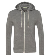 Alternative Unisex Rocky Eco-Fleece Zip Hoodie