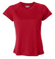 Champion Ladies' Wicking V-Neck Tee