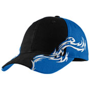 Port Authority® Colorblock Racing Cap with Flames