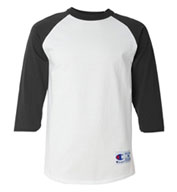 Champion Men's 100% Cotton Raglan Sleeve