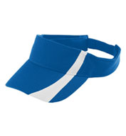 Augusta Adult Adjustable Wicking Mesh Two-Color Visor