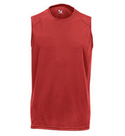 Men's Sleeveless B-Core Tee by Badger
