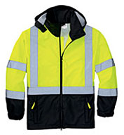 Men's ANSI Class 3 Safety Windbreaker