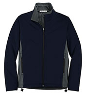Ladies' Two-Tone Soft Shell Jacket