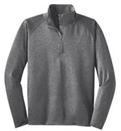 Sport-Tek® Sport-Wick® Men's Stretch 1/2-Zip Pullover