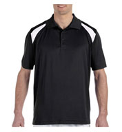 Men's 4 oz. Polytech Colorblock Polo