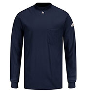 Bulwark® Fire Resistant Knit Long Sleeve T-Shirt