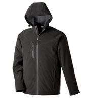 North End Men's Prospect Soft Shell Hooded Jacket