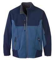 Men's Color-Block Soft Shell Jacket