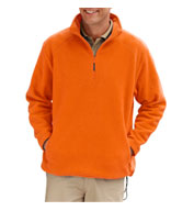 Adult Polar Fleece Quarter Zip Pullover
