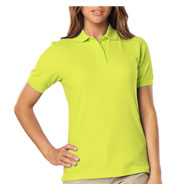 Blue Generation Ladies Hi-Visibility Pique Polo