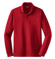 Men's Long Sleeve Micropique Sport-Wick® Polo