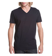 Next Level Men's Premium Fitted Cotton Short-Sleeve V-Neck Tee