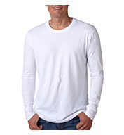 Next Level Men's Long-Sleeve Cotton Crew
