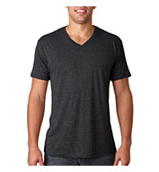 Next Level Men's Tri-Blend V-Neck Tee