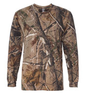 Code V Officially Licensed RealTree® Long Sleeve Camouflage T-shirt