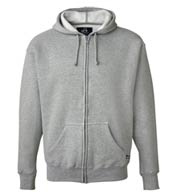J. America Premium Men's Full Zip Hooded Sweatshirt