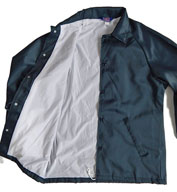 Men's Oxford Flannel Lined Windbreaker