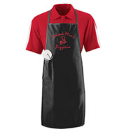 August Long Apron With Pocket