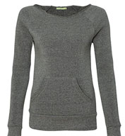 Alternative Apparel Ladies 6.4 oz. Maniac Sweatshirt