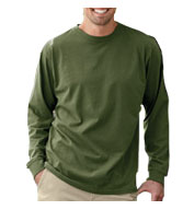 Econscious Mens 100% Organic Cotton Classic Long-Sleeve T-Shirt