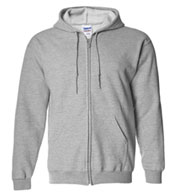 Gildan Heavy Blend Men's Full Zip Hooded Sweatshirt