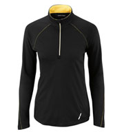 Ash City Ladies' Radar Half-Zip Performance Long Sleeve Top