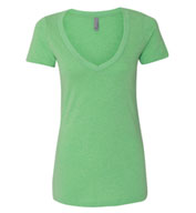 Next Level Ladies CVC Deep V Tee