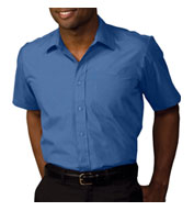 Men's Security Broadcloth Value Short Sleeve Shirt