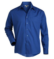 Men's Long Sleeve Broadcloth Work Shirt