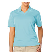 Ladies' Superblend V-Neck Pique Polo