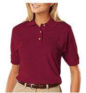 Ladies' Egyptian Ringspun Cotton Pique Polos