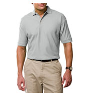 Men's Tall Egyptian Ringspun Cotton Pique Polos