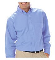 Men's Long Sleeve Budget Friendly Poplin Shirt