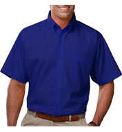 Men's Short Sleeve Budget Friendly Poplin Shirt