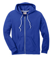 Anvil Men's Fashion Full-Zip Hooded Sweatshirt