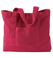 Authetic Pigment 14 oz. Pigment-Dyed Large Canvas Tote