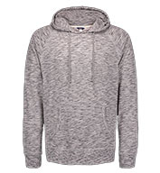 Long Sleeve Heather Pullover Tee with Hood