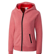Clique Ladies Lund Fleece Full Zip Hoodie