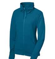Ladies Sport-Tek® Full Zip Stretch Warm-Up