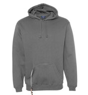 J.America Men's Tailgate Hoodie with Beverage Holder