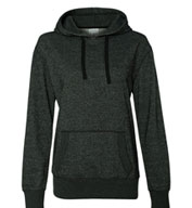 J. America Glitter French Terry Ladies' Hoodie
