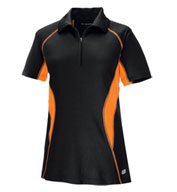 Ladies' Serac Performance Zippered Polo