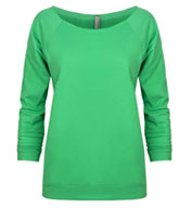 Next Level Ladies French Terry Raglan