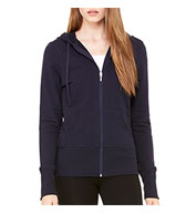 Bella + Canvas French Terry Ladies' Lounge Jacket